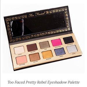 Too Faced Pretty Rebel Eyeshadow Palette